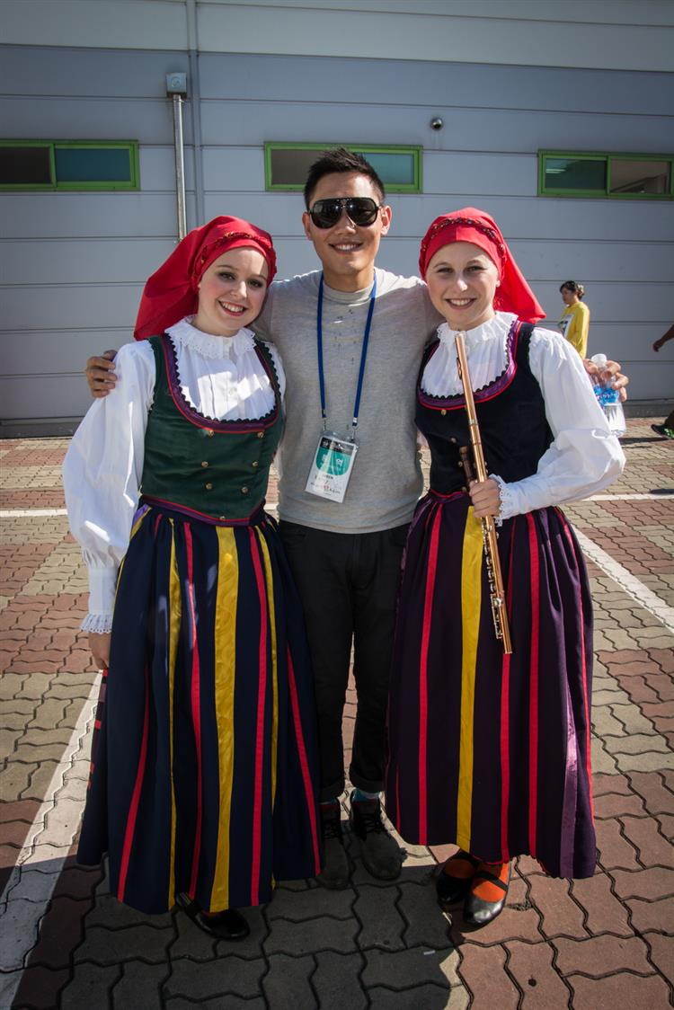 World Dance festival Cheonan, Jižní Korea
