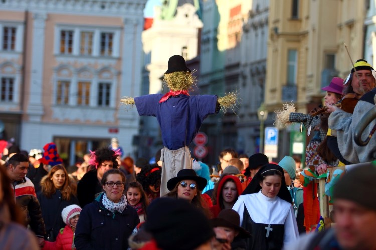 Masopust v Plzni 2017